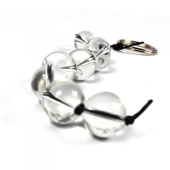 חרוזים אנאלים מיוחדים עשויי זכוכית מחוסמת