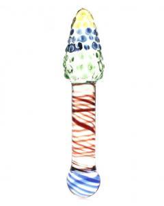 דילדו אנאלי דו כיווני, צבעוני מזכוכית מחוסמת Gerson