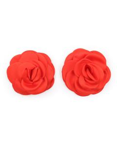 כיסויי פטמות בצורת ורדים מכותנה Flower